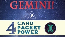 Gemini Four Card Pocket Power