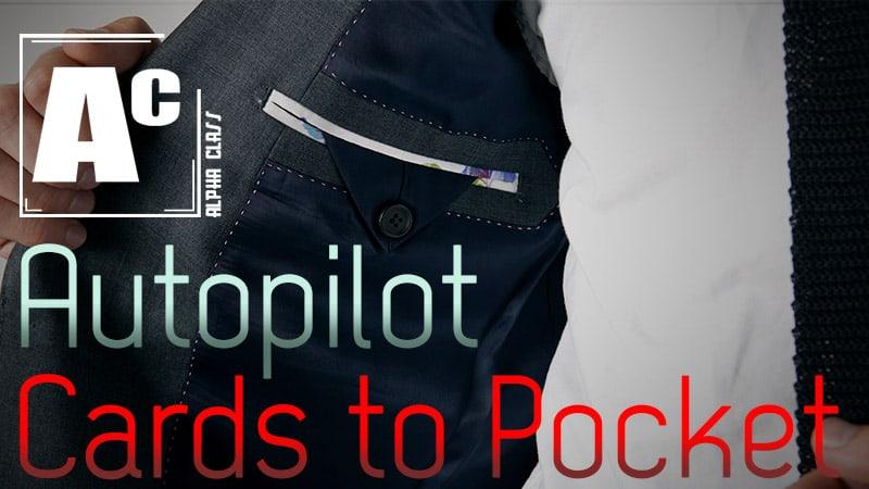 Autopilot Card to Pocket