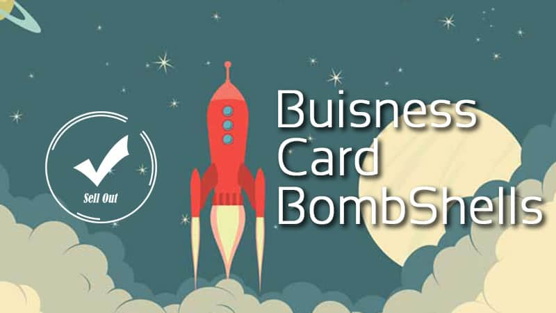 Business Card Bombshells
