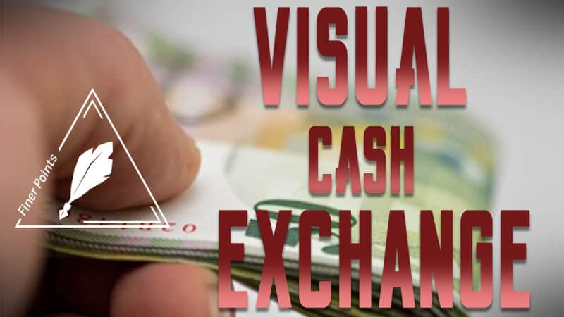 The Visual Cash Exchange