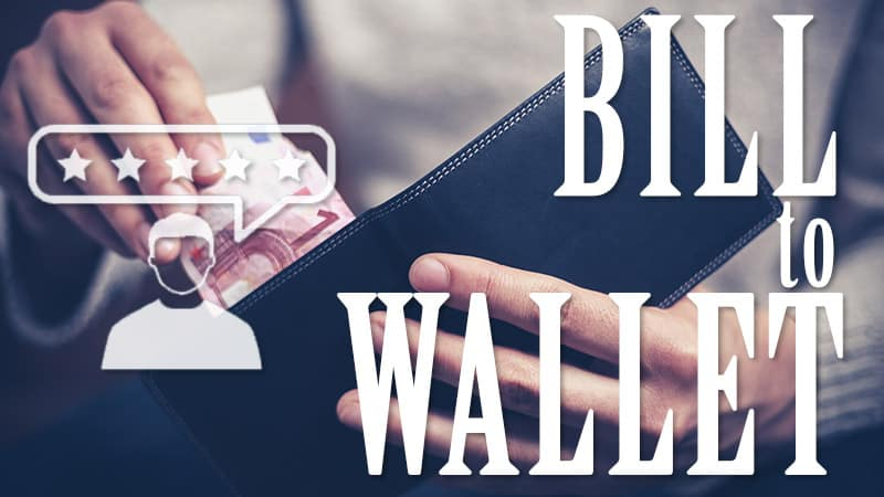 Bill to Wallet
