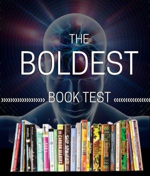 Boldest Book Test