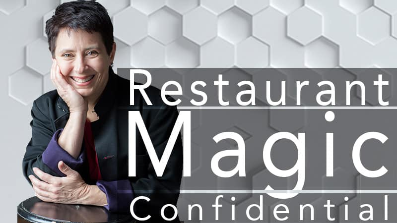 Suzanne! Restaurant Magic Confidential!
