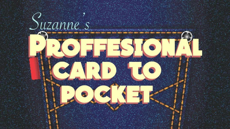 Professional Card to Pocket