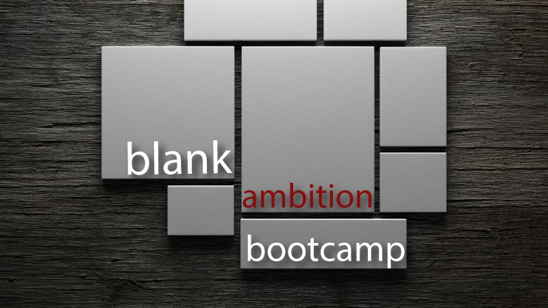 Blank Ambition Bootcamp