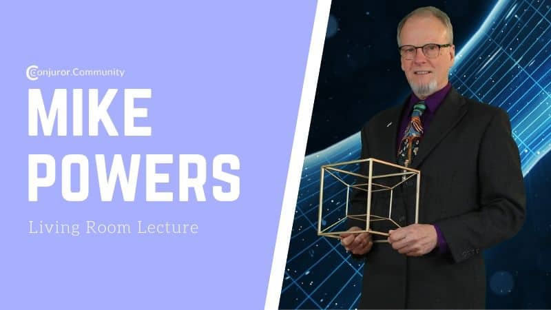 Mike Powers Living Room Lecture (July 17th)