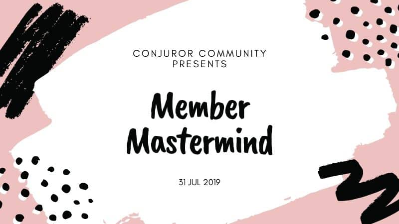 Member Mastermind (July 31st)
