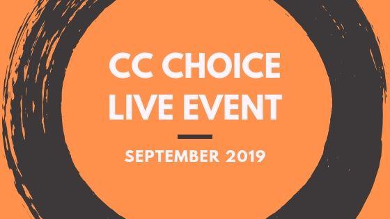CC Choice Live Event (September 11th)