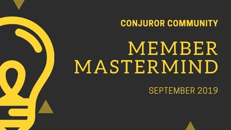 Member Mastermind (September 4th)