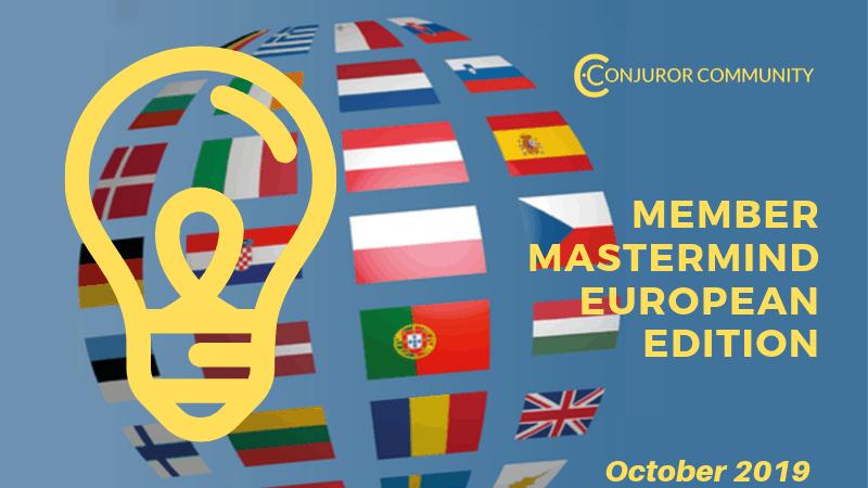 Euro Member Mastermind (October 27th)