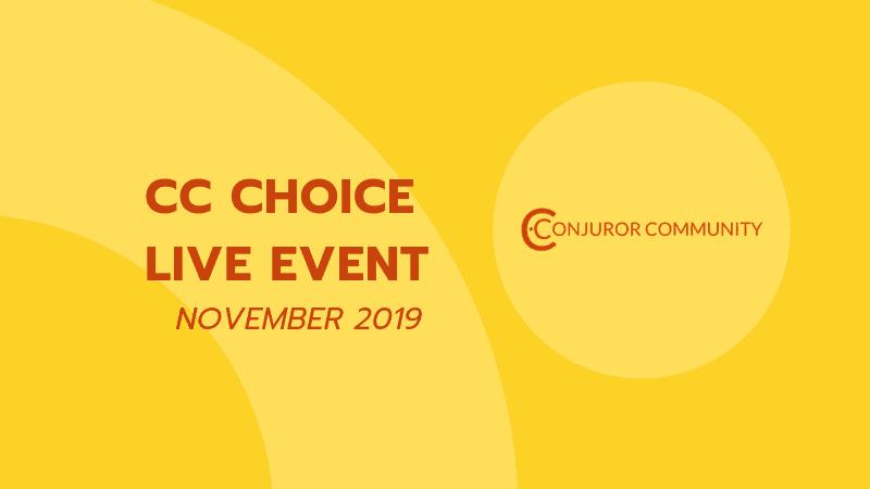 CC Choice Live Event (November 27th)