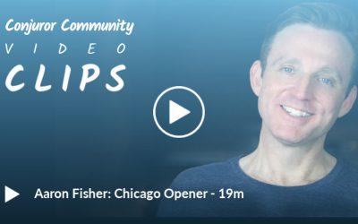 Aaron Fisher - Chicago Opener