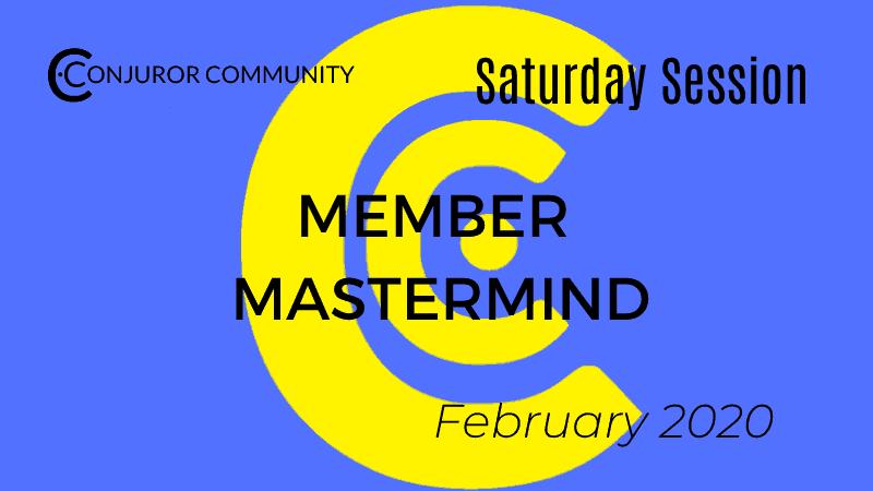 Member Mastermind (February 1st)