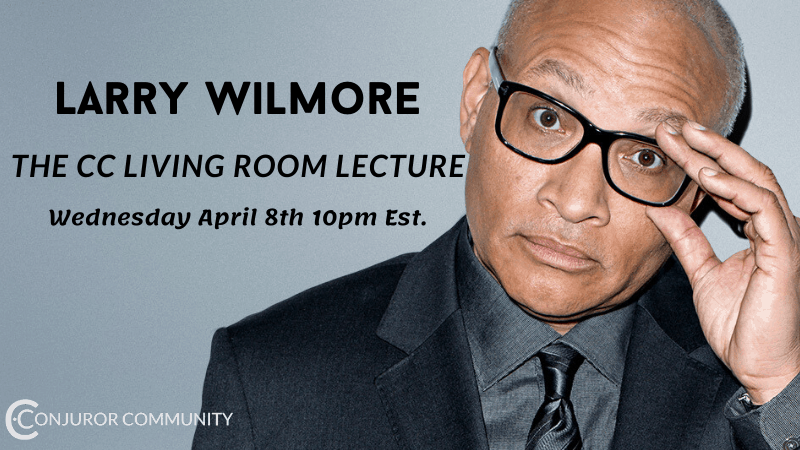 Larry Wilmore Living Room Lecture (April 8th)