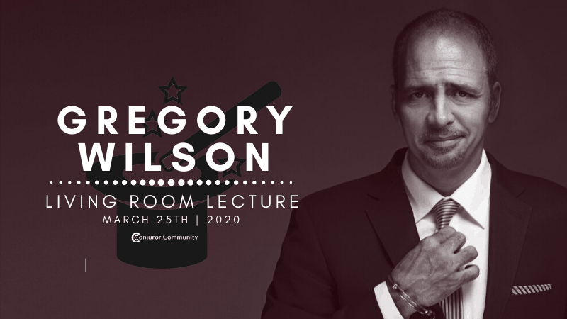Greg Wilson Living Room Lecture