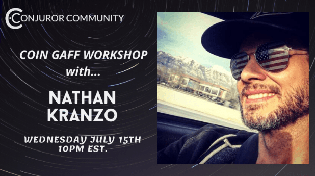 Coin Gaff Workshop with Nathan Kranzo